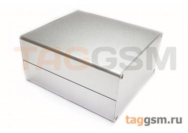 AK-C-C10 Корпус алюминиевый настольный серебристый 63x120x130мм (0,407кг)