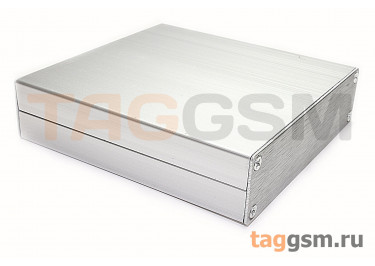 AK-C-C2 Корпус алюминиевый настольный серебристый 25x98x100мм (0,165кг)