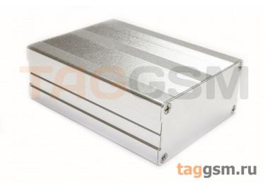 AK-C-C6 Корпус алюминиевый настольный серебристый 100x76x35мм (0,154кг)