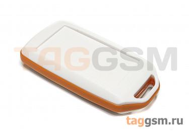 BMC 70001-A4 Корпус пластиковый мобильный белый / оранжевый 72x39x15мм