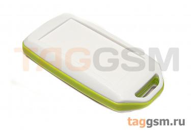 BMC 70001-A3 Корпус пластиковый мобильный белый / зеленый 72x39x15мм