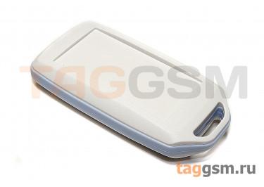 BMC 70001-A2 Корпус пластиковый мобильный белый / синий 72x39x15мм