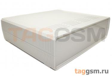 BDH 20016-A1 Корпус пластиковый настольный белый 290x260x80мм