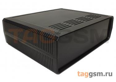 BDH 20015-A2 Корпус пластиковый настольный чёрный 260x220x80мм