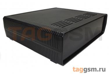 BDH 20016-A2 Корпус пластиковый настольный чёрный 290x260x80мм