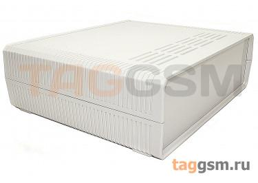BDH 20015-A1 Корпус пластиковый настольный белый 260x220x80мм