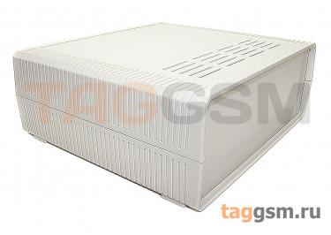 BDH 20014-A1 Корпус пластиковый настольный белый 230x210x86мм