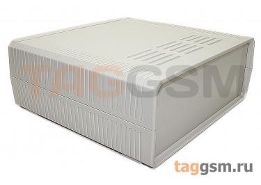 BDH 20013-A1 Корпус пластиковый настольный белый 200x190x76мм