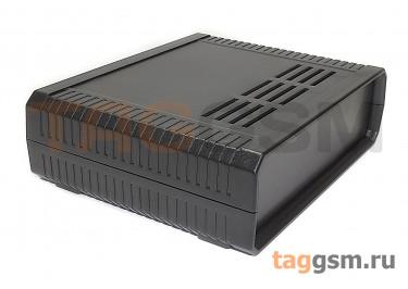 BDH 20010-A2 Корпус пластиковый настольный чёрный 160x130x48мм