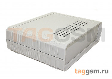 BDH 20010-A1 Корпус пластиковый настольный белый 160x130x48мм
