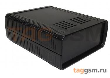 BDH 20009-A2 Корпус пластиковый настольный чёрный 140x170x60мм