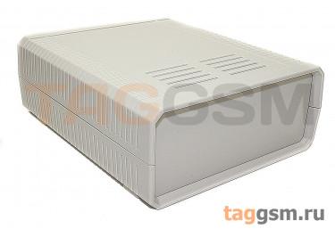 BDH 20009-A1 Корпус пластиковый настольный белый 140x170x60мм