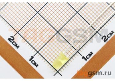 Светодиод круглый 3мм (Желтый) (тип 2)
