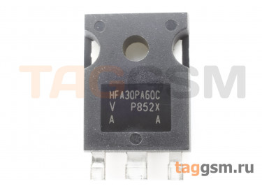 VS-HFA30PA60C (TO-247AC) Диод импульсный 600В 15А (х2 ОК)