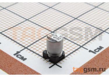 Конденсатор электролитический SMD 4,7 мкФ 35В 20% (4х5,4мм)