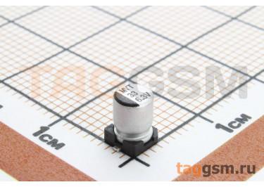 Конденсатор электролитический SMD 33 мкФ 6,3В 20% (5х5,4мм)