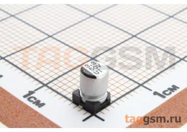 Конденсатор электролитический SMD 3,3мкФ 50В 20% (4х5,4мм)
