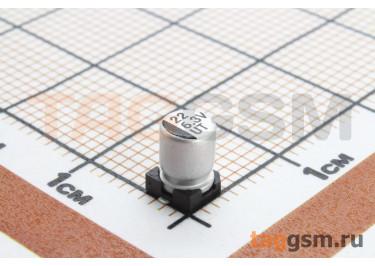 Конденсатор электролитический SMD 22 мкФ 6,3В 20% (4х5,4мм)