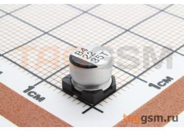 Конденсатор электролитический SMD 22 мкФ 35В 20% (6,3х5,4мм)