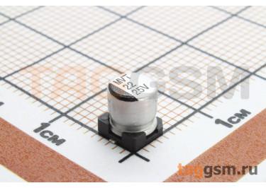 Конденсатор электролитический SMD 22 мкФ 25В 20% (5х5,4мм)