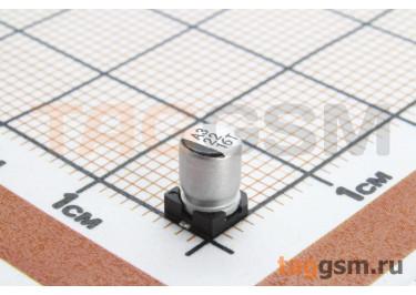 Конденсатор электролитический SMD 22 мкФ 16В 20% (4х5,4мм)