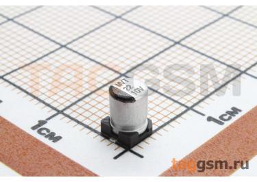 Конденсатор электролитический SMD 22 мкФ 10В 20% (4х5,4мм)