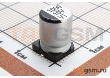 Конденсатор электролитический SMD 1000 мкФ 10В 20% (8х10,5мм)