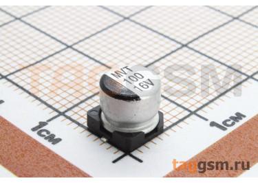 Конденсатор электролитический SMD 100 мкФ 16В 20% (6,3х5,4мм)