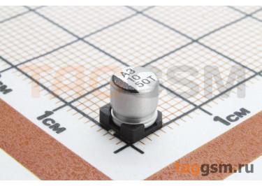 Конденсатор электролитический SMD 10 мкФ 50В 20% (5х5,4мм)