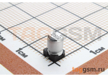 Конденсатор электролитический SMD 10 мкФ 35В 20% (4х5,4мм)