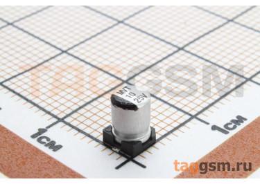 Конденсатор электролитический SMD 10 мкФ 25В 20% (4х5,4мм)