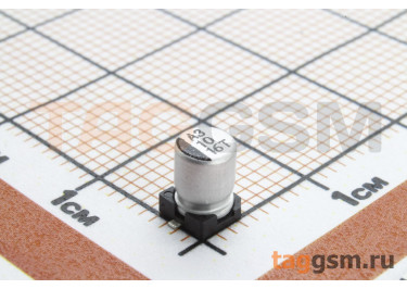 Конденсатор электролитический SMD 10 мкФ 16В 20% (4х5,4мм)