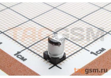 Конденсатор электролитический SMD 1 мкФ 50В 20% (4х5,4мм)
