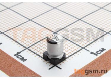 Конденсатор электролитический SMD 0,47 мкФ 50В 20% (4х5,4мм)