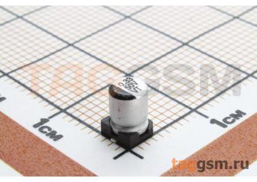 Конденсатор электролитический SMD 0,33 мкФ 50В 20% (4х5,4мм)