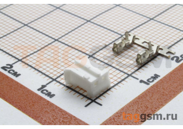 DS1066 series (I-DS1066-SCW002) Гнездо на кабель 2 конт. шаг 2мм 250В 1А