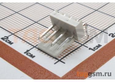 DS1070 series (DS1070-04MRV6A) Вилка на плату угловая 4 конт. шаг 2,54мм 250В 3А