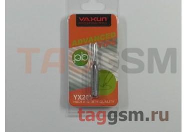 Жало для паяльника YAXUN YX205 i прямое (хром)