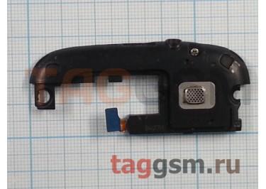 Антенный модуль для Samsung i9300 (с компонентами) + разъем гарнитуры + звонок (черный)