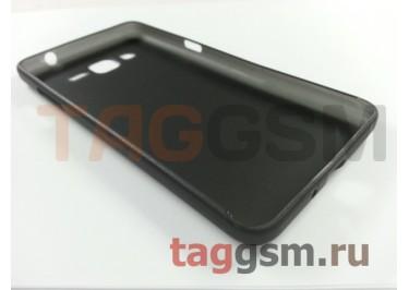 Задняя накладка FASHION для Samsung G530H Grand Prime ультратонкая черная
