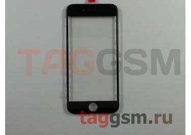 Стекло + OCA + рамка для iPhone 6S (черный), (олеофобное покрытие) ААА
