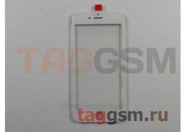 Стекло + OCA + рамка для iPhone 6 (белый), (олеофобное покрытие) ААА