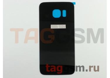 Задняя крышка для Samsung SM-G925 Galaxy S6 Edge (черный)