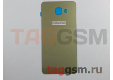 Задняя крышка для Samsung SM-A710 Galaxy A7 (2016) (золото)