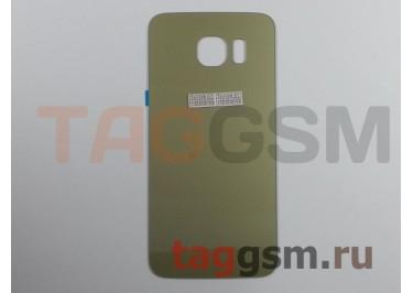Задняя крышка для Samsung SM-G920 Galaxy S6 (золото)