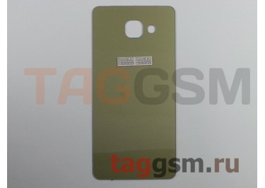 Задняя крышка для Samsung SM-A510 Galaxy A5 (2016) (золото)