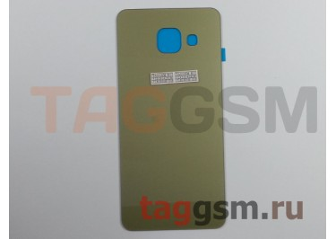 Задняя крышка для Samsung SM-A310 Galaxy A3 (2016) (золото)
