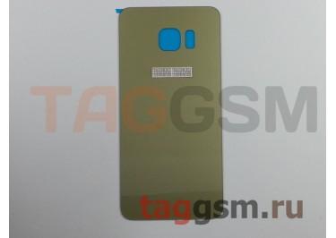 Задняя крышка для Samsung SM-G928 Galaxy S6 Edge+ (золото)