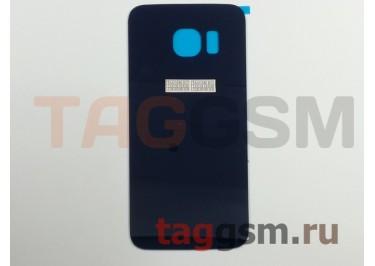 Задняя крышка для Samsung SM-G925 Galaxy S6 Edge (синий)