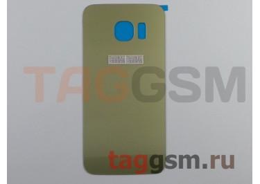Задняя крышка для Samsung SM-G925 Galaxy S6 Edge (золото)